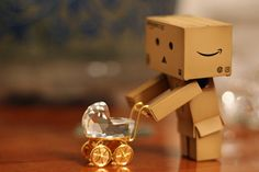 Danbo's Dolly by Katkamin, via Flickr