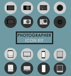 photographer-icons