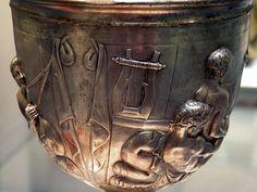 Warren Cup, British Museum  Roman Britain