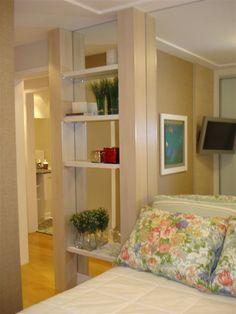 Quarto casal empreendimento Vivare / Vivare Master Bedroom