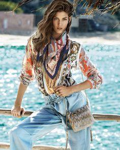 Kendra Spears for Vogue Spain #monoymono #fashioneditorial