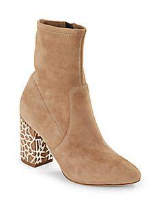 Via Spiga - Almond Toe Ankle Boots