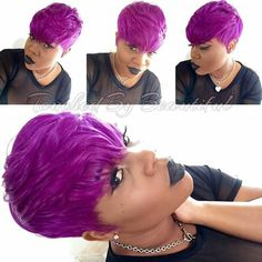 Luv the hair color 27 Piece Hairstyles, Quick Weave Hairstyles, Cute Hairstyles For Short Hair, Bang Hairstyles, Haircuts, Short Hair Syles, Short Hair Wigs, Black Girl Hair Cuts, Locks