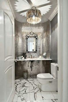 Glam bathroom- Tuba TANIK