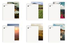 World in 7 islands by espluga+associates , via Behance