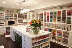 Three featured craft studios with videos! Awesome information and great pics!!