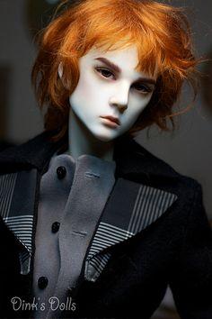 Doll by Dink's Dolls Lifelike Dolls, Realistic Dolls, Bjd Dolls, Doll Toys, Redhead Art, Human Sculpture, Broken Doll, Gothic Dolls, Creepy Dolls