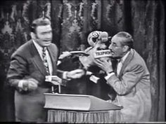 It's hard to top Jack Benny and Grouch Marx together. Despite what the title on the video says, though, this is not from You Bet Your Life. As can clearly be heard during the voiceover narrator (which sounds like it's Leslie Nielsen, so this clip was likely included in some TV special), it was actually a sketch on The Jack Benny Program. No matter, it's just as funny regardless. -- RJE