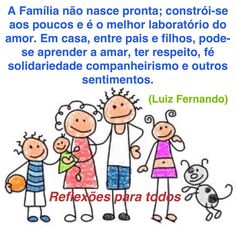 08 de Dezembro - Dia da Família Disney Christmas Decorations, Peace Love And Understanding, Happy Words, Family Crafts, Love My Family, Positive Thoughts, Peace And Love, Professor, Psychology