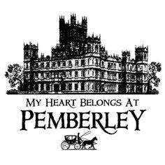 This pin bothers me because it is Highclere in the picture...that's Downton you uncultured swine!