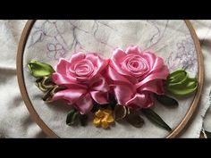 Silk Embroidery Floss Canada above Silk Ribbon Embroidery Kits Uk Embroidery Designs, Ribbon Embroidery Tutorial, Rose Embroidery, Silk Ribbon Embroidery, Embroidery Stitches, Embroidery Patterns, Embroidery Tattoo, Embroidery Blanks, Diy Ribbon