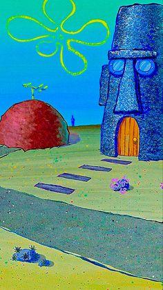 Wallpaper spongebob aesthetic