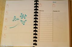 Printable planner - time to get organised for the new year