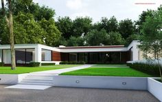 The New Canaan Residence by Specht Harpman architects on Behance