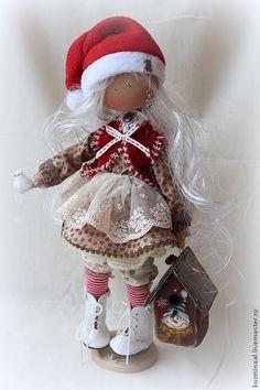 Men handmade. Fair Masters - Textile handmade doll MAGDA SOLD. Handmade.