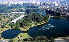 Ibirapuera é eleito o melhor parque do mundo pelo The Guardian. O Ibirapuera é o parque urbano mais importante da cidade de São Paulo – Foto: Reprodução (via Catraca Livre and Thx Jeannie)