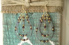 Boho Style Amethyst Seed Beads Gold Filled Beads by MemesShoppe, $30.00