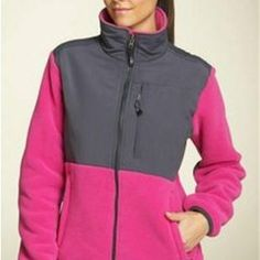 "Denali Fleece ""Pink Ribbon"" Winter Coat"