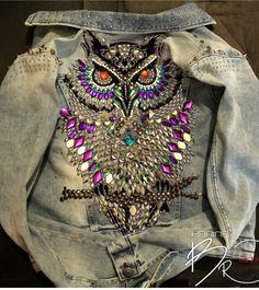 Jaqueta coruja