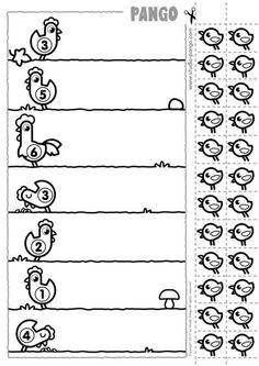 {Caterpillar Counting Freebie} Common Core Math for Kindergarten Kindergarten Worksheets, Learning Activities, Preschool Activities, Preschool Centers, Teaching Kids, Kids Learning, Kindergarten Newsletter, Math For Kids, Home Schooling