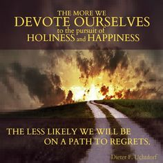 holiness and happiness