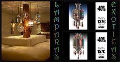 Lámparas de techo de estilo arabe, ideales para dar un aire exotico a tu rincón favorito de casa ¡Ahora en oferta! http://www.originalhouse.info/