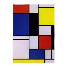 Mondrian-1 5'x7'area Rug on CafePress.com