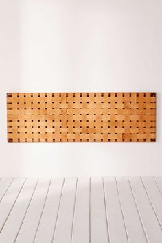 Alda Woven Leather Headboard