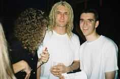 Joe with fans 1997