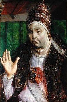"""Retrato do Papa Sisto IV"".  (212º Papa).   (by Justus van Gent). Nome: Francesco della Rovere. (* Albisola, 21/Julho/1414 - Roma, 12/Agosto/1484)."