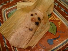 Ive made and eaten my fair share of tamales and these are the best sweet tamales I have ever eaten! This is an Emeril Lagasse recipe and has become a new family tradition. My DBF suggested that next year we only make these and skip the pork tamales! I didnt use the banana leaves but instead soaked about 40 corn husks in warm water for 1/2 an hour and used those.