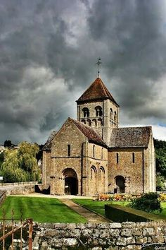 Church in Domfront - Normandy, France