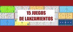 15 JUEGOS DE LANZAMIENTOS | Juegos Educación Física