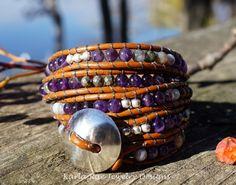 4 wrap bracelet~ Karla Rae Jewelry Design