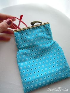 SaritaSopita ♥: Monederos Estuches Coin Purse, Wallet, Purses, Coin Purses, Totes, Pocket Wallet, Handbags, Bags, Diy Wallet