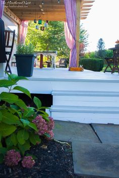 DIY Deck Makeover on a Budget from The Heathered Nest