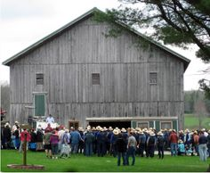 """""""Weather didn't deter anybody who enjoyed their time at the annual Miller Amish Auction on May 10.""""  Submitted by Nancy Skeddle."""