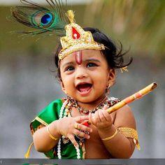 Cute Little Krishnas