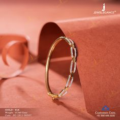 Gemstone Bracelet jewellery for Women by jewelegance. ✔ Certified Hallmark Premium Gold Jewellery At Best Price Gold Ring Designs, Gold Bangles Design, Gold Earrings Designs, Bracelet Designs, Fancy Jewellery, Jewellery Earrings, Handmade Jewellery, Gold Jewelry Simple, Drawing