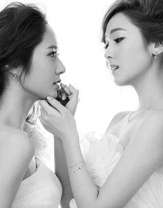 【娛樂調查】韓國女藝人婚紗照