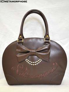 Lolibrary | Metamorphose Temps de Fille - Bags - Semicircular Ribbon Bag