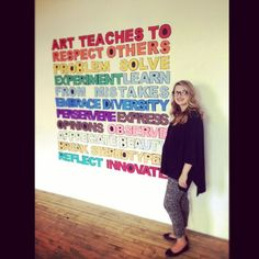 art teaches...