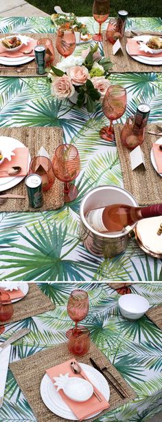 Here's a look at a recent backyard dinner party I hosted. I'm sharing 5 simple if you're wondering how to host a backyard dinner party in your space. via @HostessTori