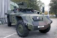 Gefas Protected Vehicle System - Army Technology
