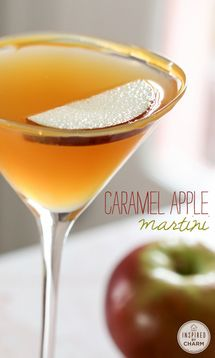Caramel Apple Martini - Inspired by Charm