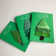 Christmas Diy, Christmas Cards, Crochet Christmas, Xmas, Diy Cards, Stuff To Do, Fun Stuff, Special Day, Fiber Art