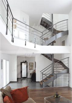 dt71 spir 39 d co d 39 angle mixte droit formant escalier 2 quartiers tournants escalier m tal et. Black Bedroom Furniture Sets. Home Design Ideas
