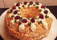 Frankfurter Kranz: Συνταγή για κεικ το Γιορτινό Στεφάνι Φρανκφούρτης Pancakes, Pie, Breakfast, Desserts, Brother, Food, Torte, Morning Coffee, Tailgate Desserts