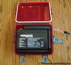 Palmetto Kayak Fishing: Kayak Battery Box for the 2012 Ride 135
