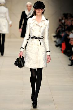 Burbery Prorsum Fall 2011/12 <3 I have literally had dreams about this coat.  I love it!